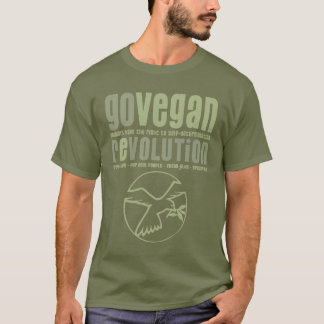 GO VEGAN REVOLUTION -21m T-Shirt