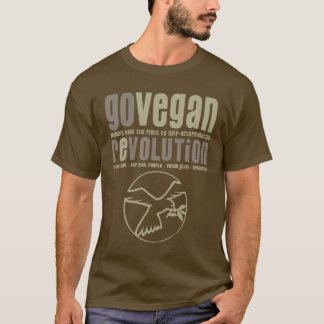 GO VEGAN REVOLUTION -22m T-Shirt