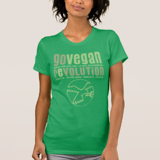 GO VEGAN REVOLUTION - 24w T Shirt