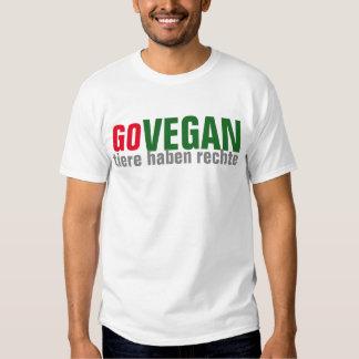GO VEGAN - Tierrechte - 02m T Shirts