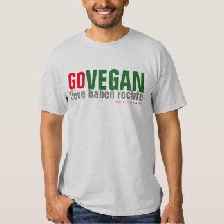 GO VEGAN - Tierrechte - 05m T Shirts