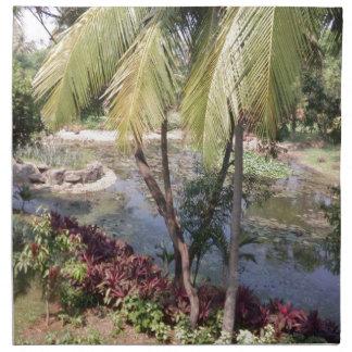 Goa Indien Garten Serviette
