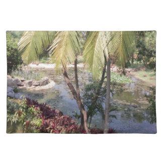 Goa Indien Garten Tischset