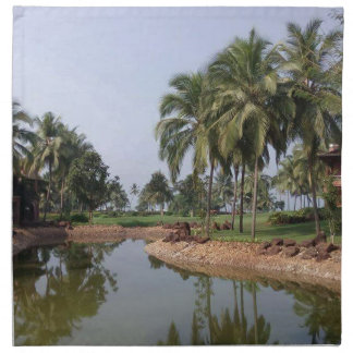 Goa Indien Stoffserviette