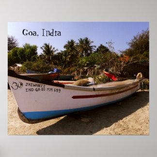 Goa Reise-Plakat Poster