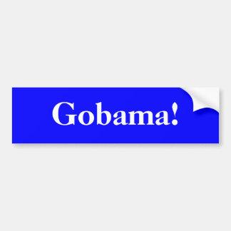 Gobama! Autoaufkleber