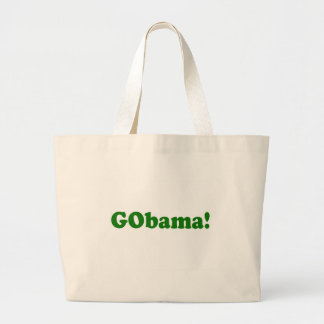 GObama Jumbo Stoffbeutel