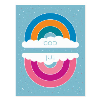 God Jul Postkarte
