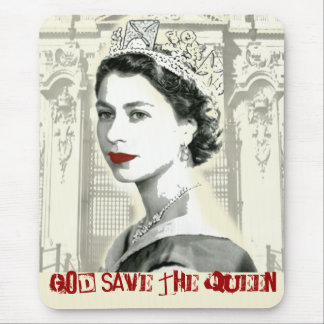 God Save the Queen Mauspad