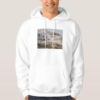 Godafoss Wasserfall, Winter, Island Hoodie
