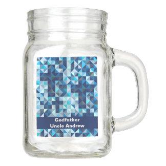 Godparent-Tauftaufe-Pate Einmachglas
