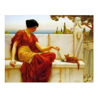 Godwards die necken - Postkarte