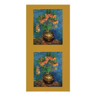 Gogh Fritillaries im Vase blüht Perfektes Poster