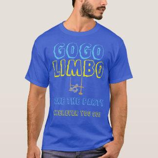 GOGO grundlegender dunkler ÜberhangsT - Shirt