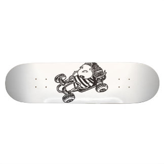 Gokart Cartoon Skateboard Individuelle Decks
