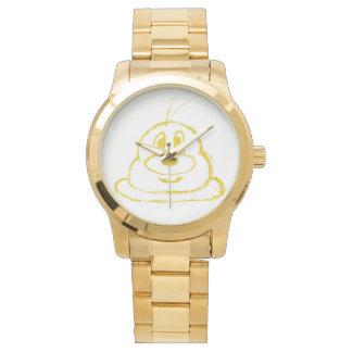 Gold鲍鲍 Edelstahl-Armbanduhr 3 (Frauen) Armbanduhr