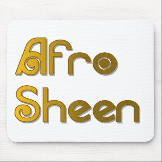 Gold AfroSheen Sist- Mauspads