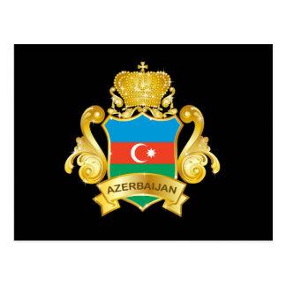Gold Aserbaidschan Postkarte