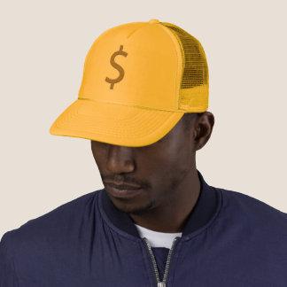 Gold belaubtes $ truckerkappe