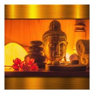 Gold Buddha Fotodruck