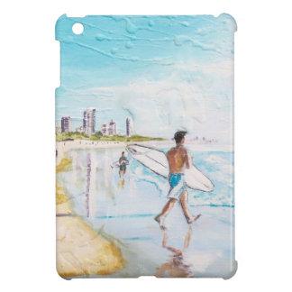 Gold- Coastlebensstil iPad Mini Hülle