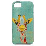Gold, das Giraffe iPhone Fall späht iPhone 5 Hülle