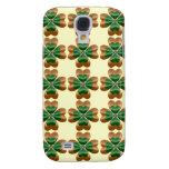 Gold drei und grüne irische Kleeblatt-Galaxie S4 Galaxy S4 Hülle