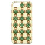 Gold drei und grünes irisches Kleeblätter iPhone 5 Hülle Für iPhone 5C