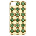 Gold drei und grünes irisches Kleeblätter iPhone 5 iPhone 5 Schutzhüllen