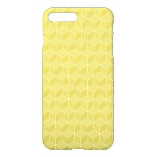 Gold farbige Kaskade der Würfel 3D iPhone 8 Plus/7 Plus Hülle