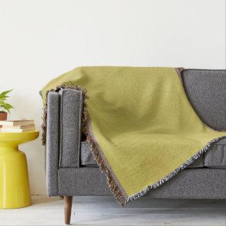 Gold-Farbige Wurfs-Decke Decke