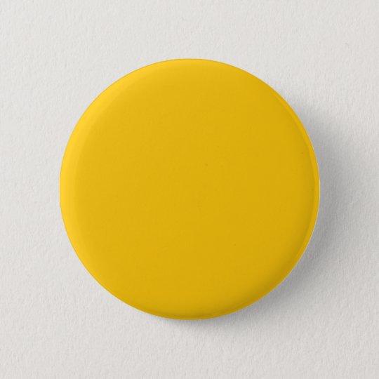Gold Gelb Runder Button 5,7 Cm