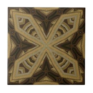 Gold geschnürter Strick mögen Motiv Keramikfliese
