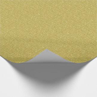 Gold Glitter Geschenkpapier