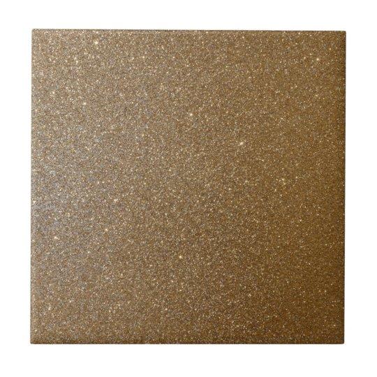 Gold Glitter Keramikfliese
