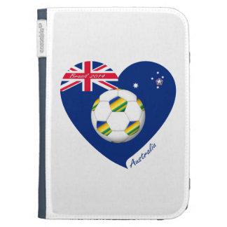 """Gold & Green Soccer Team. Fußball von """"AUSTRALIEN"""