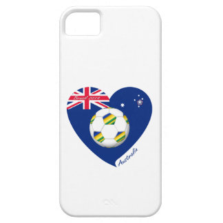 """Gold & Green Soccer Team. Fußball von """"AUSTRALIEN  iPhone 5 Case"""
