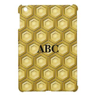 Gold mit Ziegeln gedeckte Hexe MiniiPad Abdeckung iPad Mini Schale