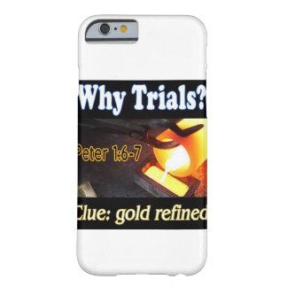 Gold raffinierter Telefonkasten Barely There iPhone 6 Hülle
