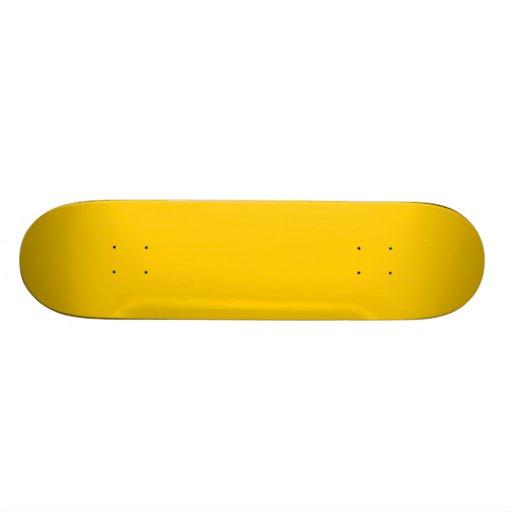 Gold Skateboardbretter