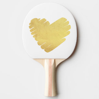 Gold Tischtennis Schläger