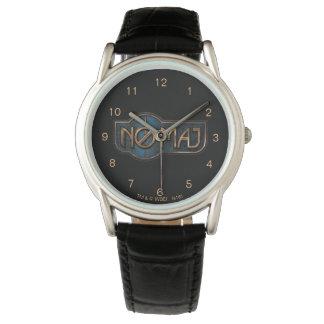 Gold- u. Marmor NO-Major Badge Armbanduhr