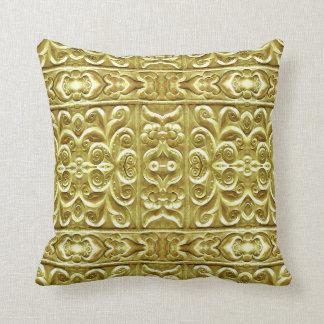 Gold überzogene Verzierung Kissen