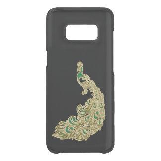 Gold und grüner Pfau, die hell schimmern Get Uncommon Samsung Galaxy S8 Hülle