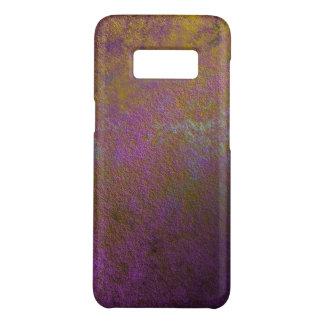 Gold und lila abstrakter Entwurf Case-Mate Samsung Galaxy S8 Hülle
