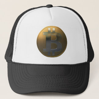 Gold und Silber Bitcoin Truckerkappe