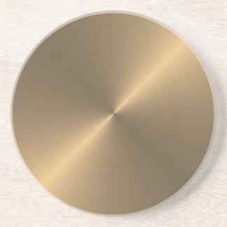 Gold Untersatz