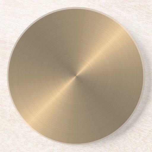 Gold Getränkeuntersetzer