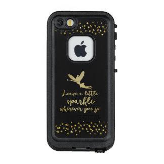 Gold verlassen einen wenigen Schein, wohin Sie LifeProof FRÄ' iPhone SE/5/5s Hülle