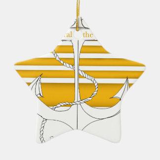GoldAdmiral der Flotte, tony fernandes Keramik Ornament